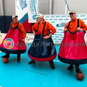 Футбол в Колокольчиках (в юбках) аренда на спортивное мероприятие