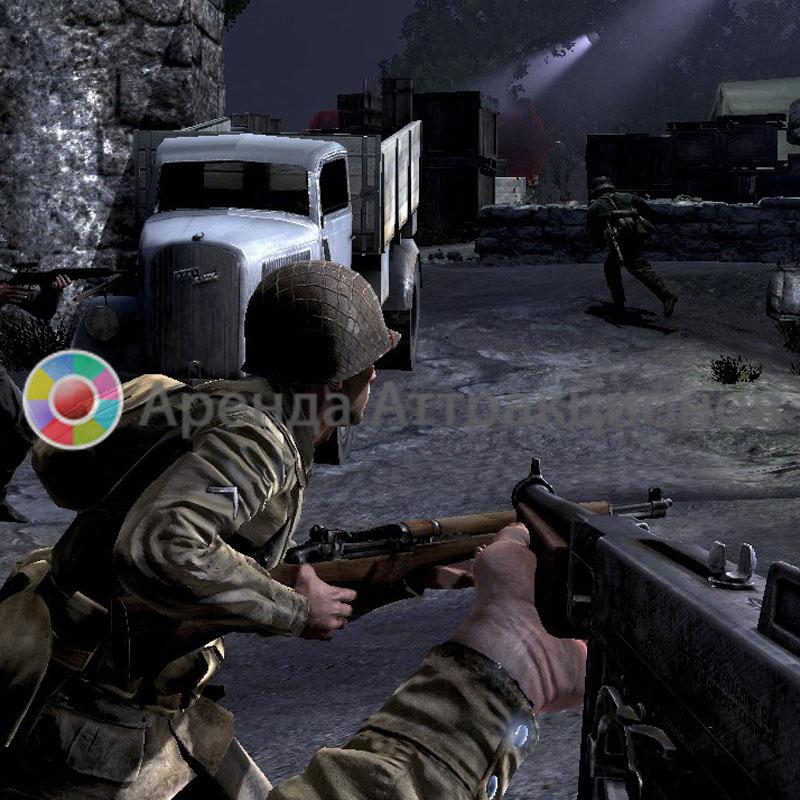Аренда военных видео игр