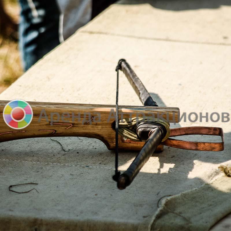 Аренда аттракциона Тир арбалетный «Русичъ»