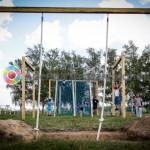 Полоса препятствий Средневековая на спортивные соревнования