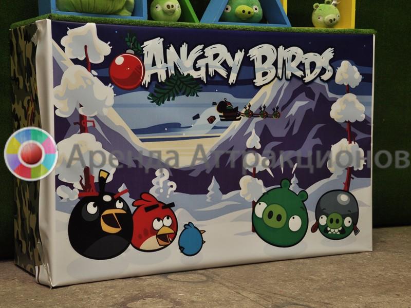 Аренда аттракциона Angry Birds