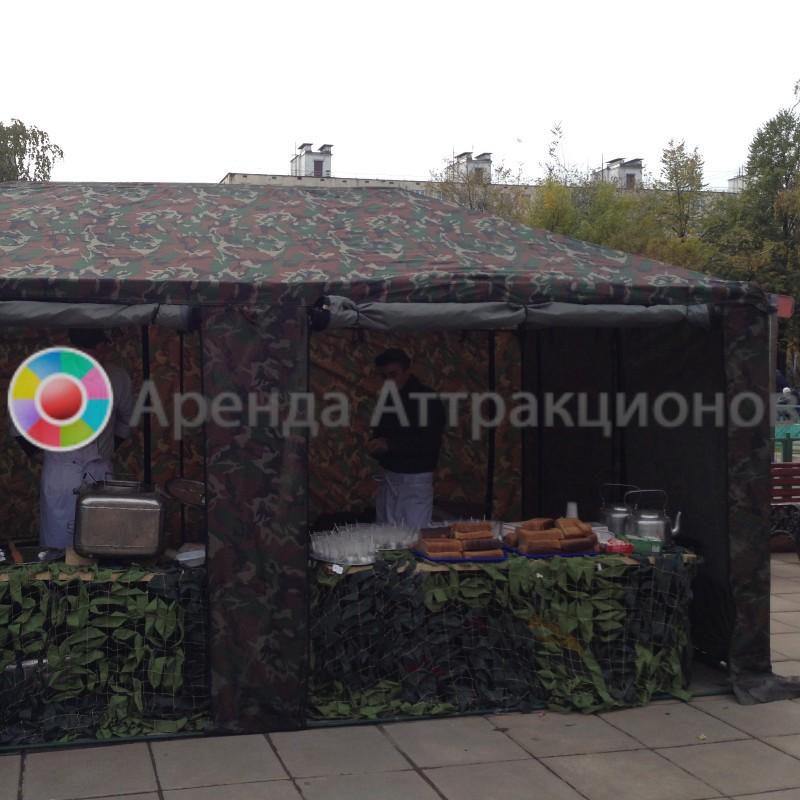 Военная чайная станция на мероприятие