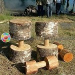 Гантели деревянные аренда