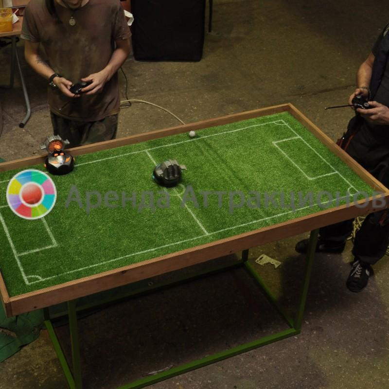 классическое поле для футбола роботов
