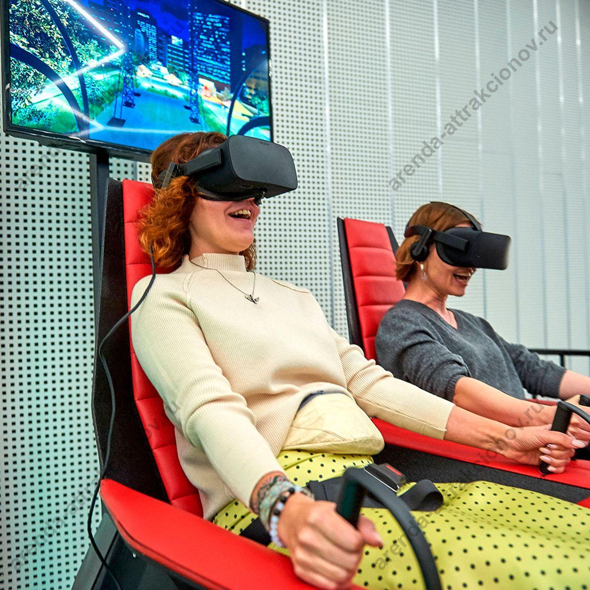 виртуальная кабина в действии