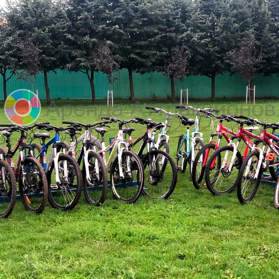 Прокат велосипедов на мероприятие