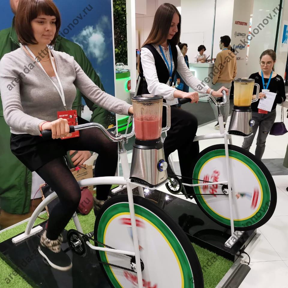 Велошейкер в аренду для изготовления смузи