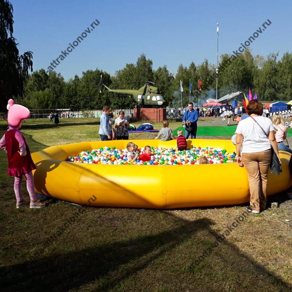 Сухой бассейн в аренду на детский праздник