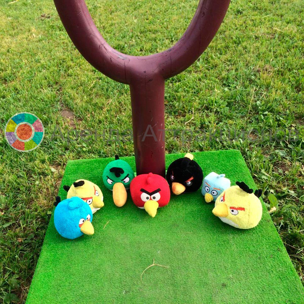 Аренда игры Angry Birds на мероприятие