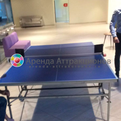 настольный теннисный стол синий