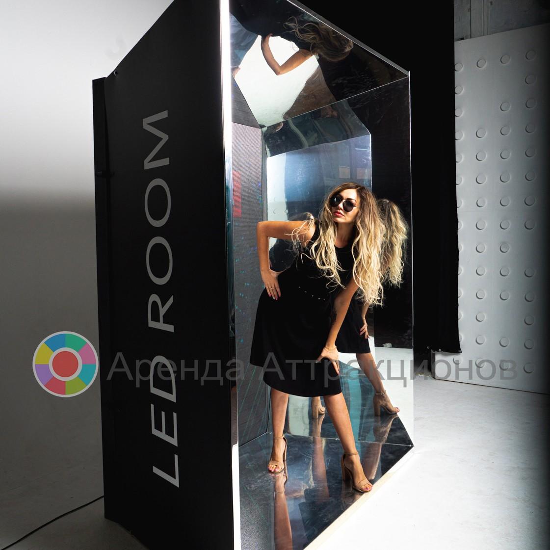 Фотозона LED Калейдоскоп в аренду для мероприятий