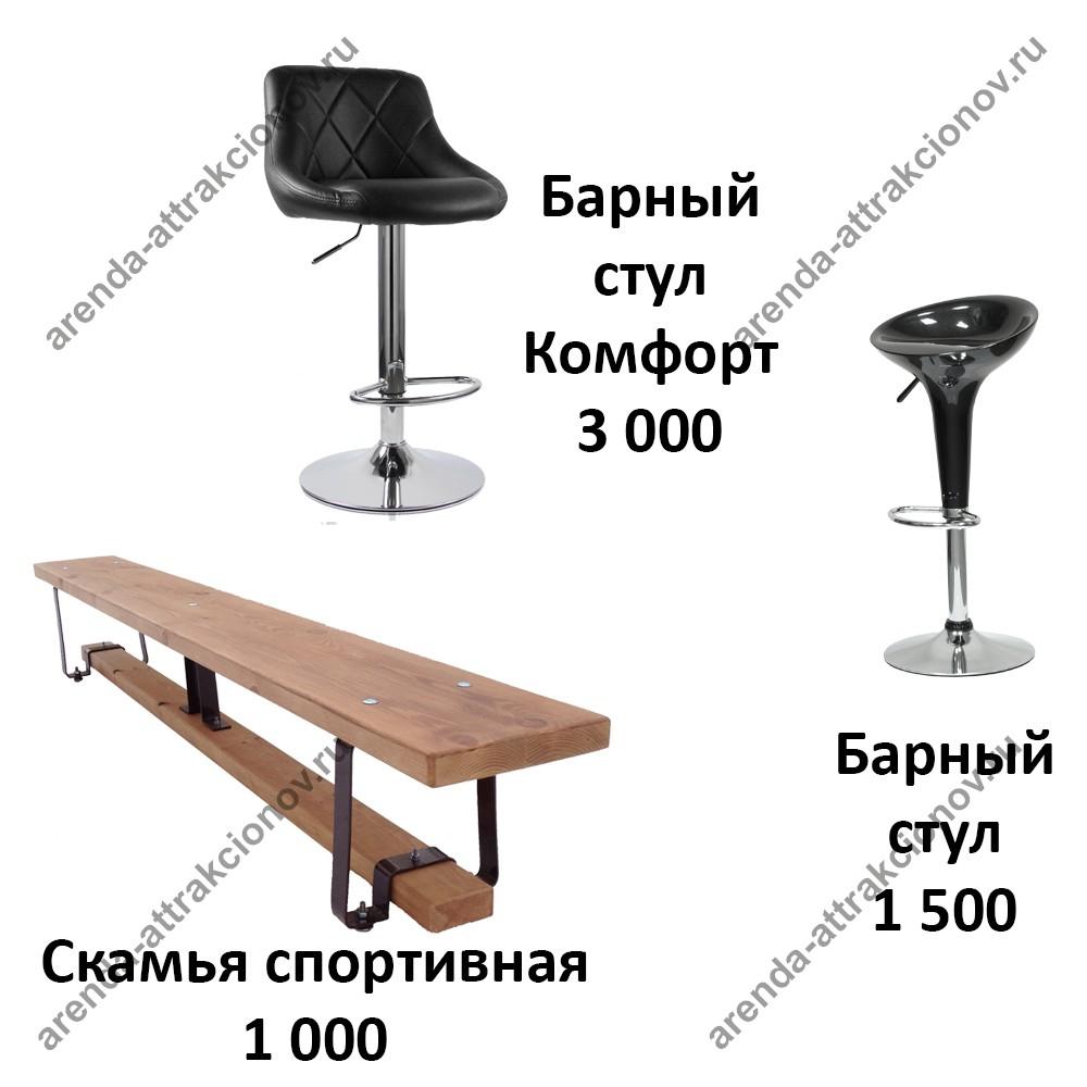 Мебель для искусственного льда (катка)