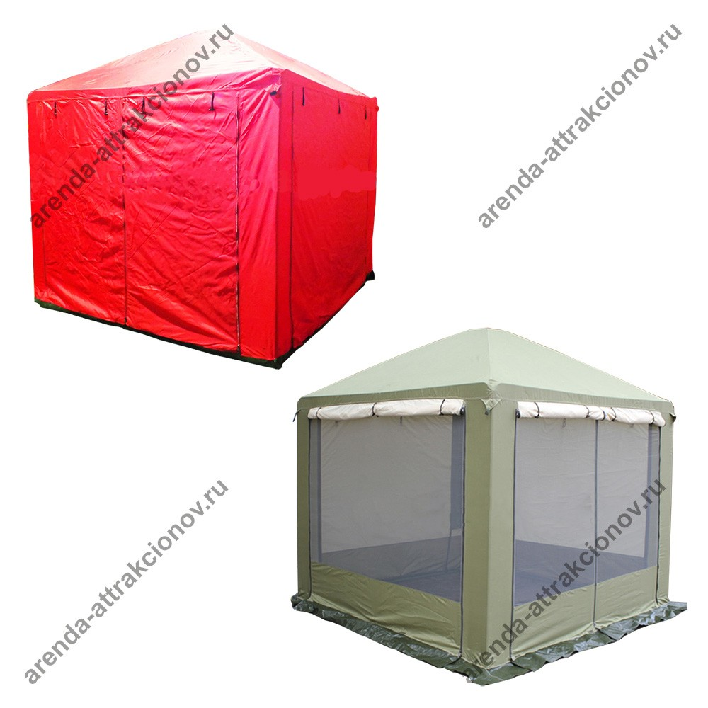 Однотонный шатер для быстрого мастер-класса