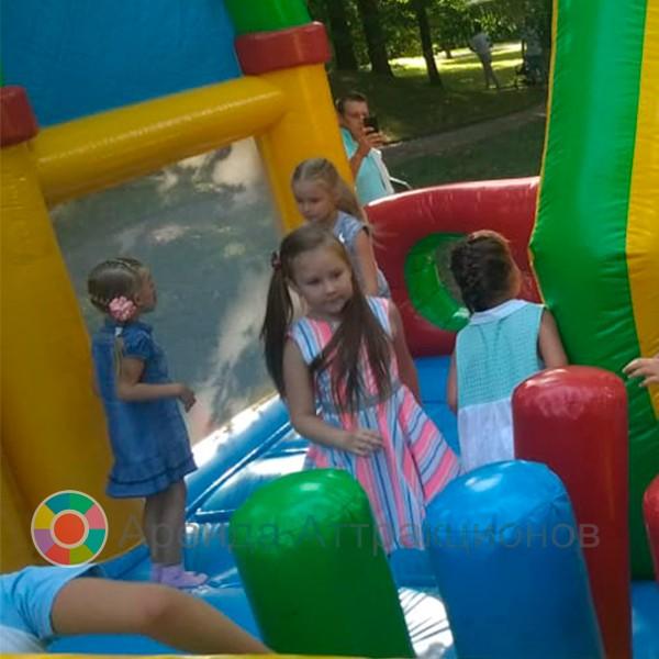 Детский батут Горки в аренду на мероприятие с детьми