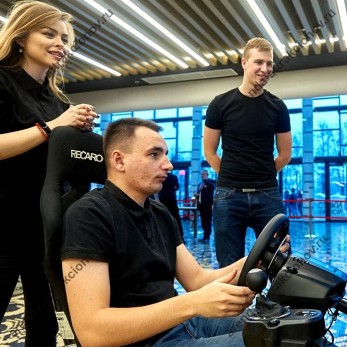 Аттракцион Автомобильный симулятор 2D