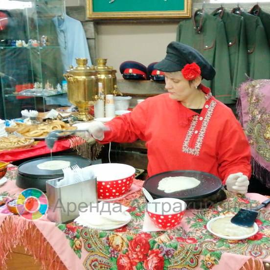 Приготовим горячие блинчики на вашем празднике