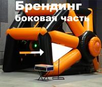 Полная оклейка названий для аттракциона Интерактивная арена