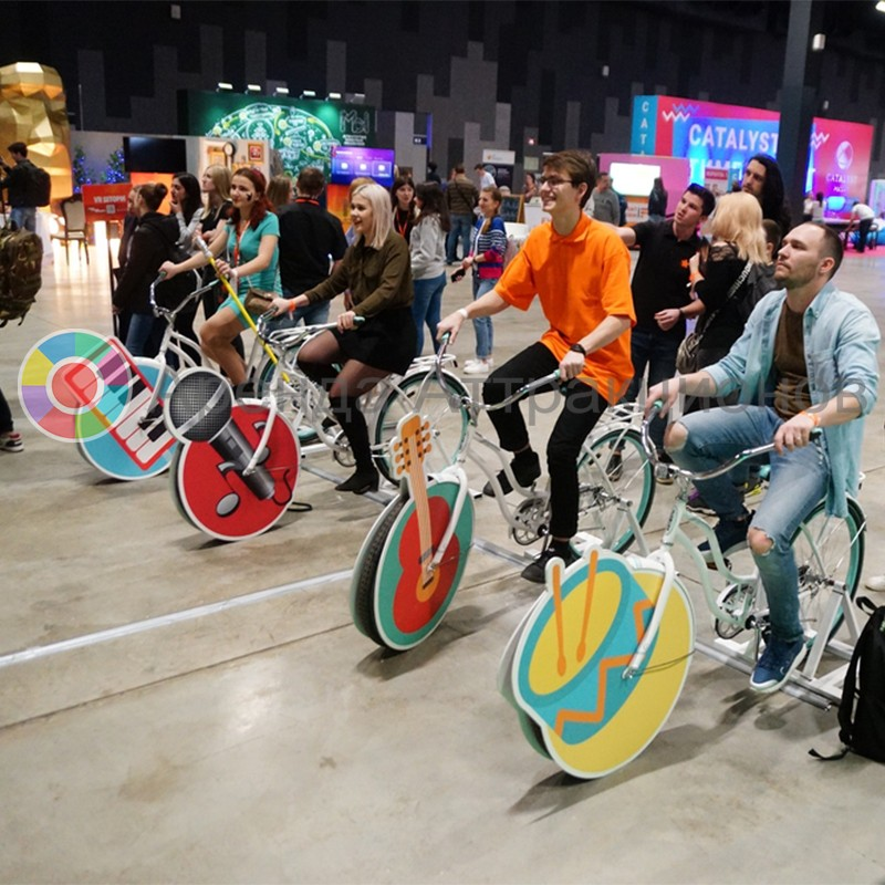 Велосипедный оркестр на заказ