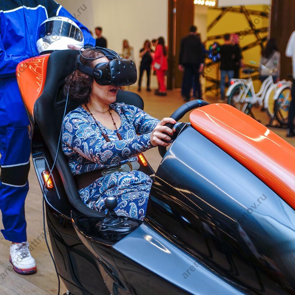 VR гонки на автомобилях