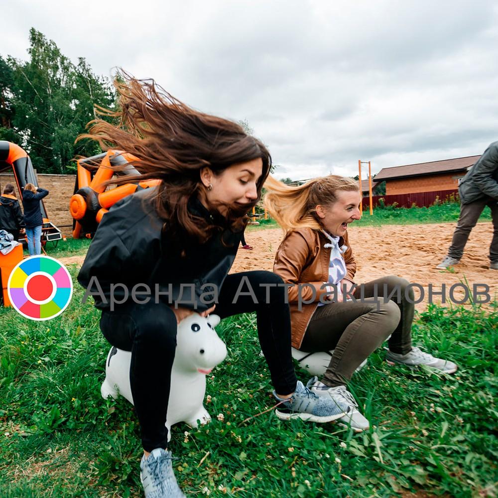 Зайки попрыгайки во время мероприятия