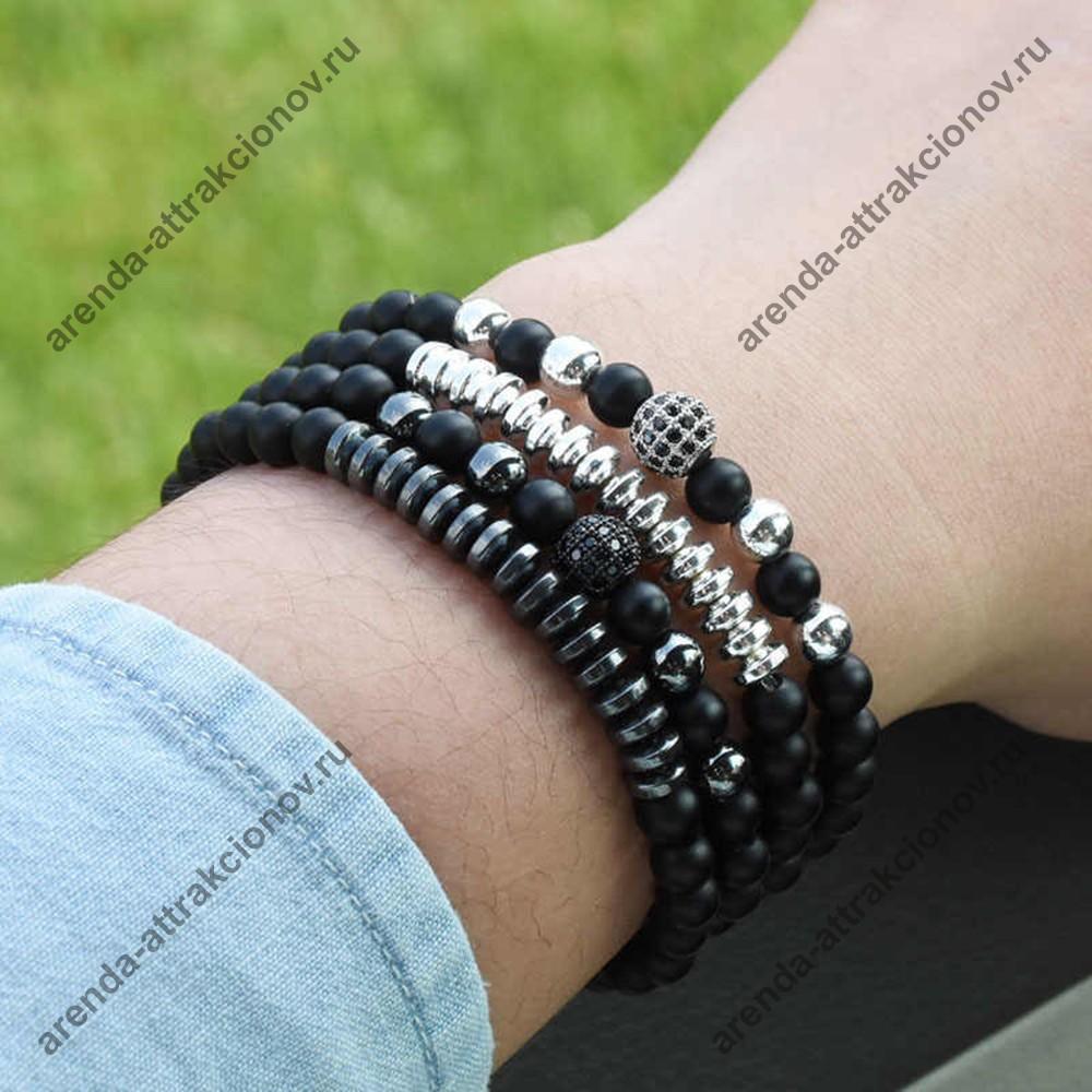 мужские браслеты из кожи в подарок