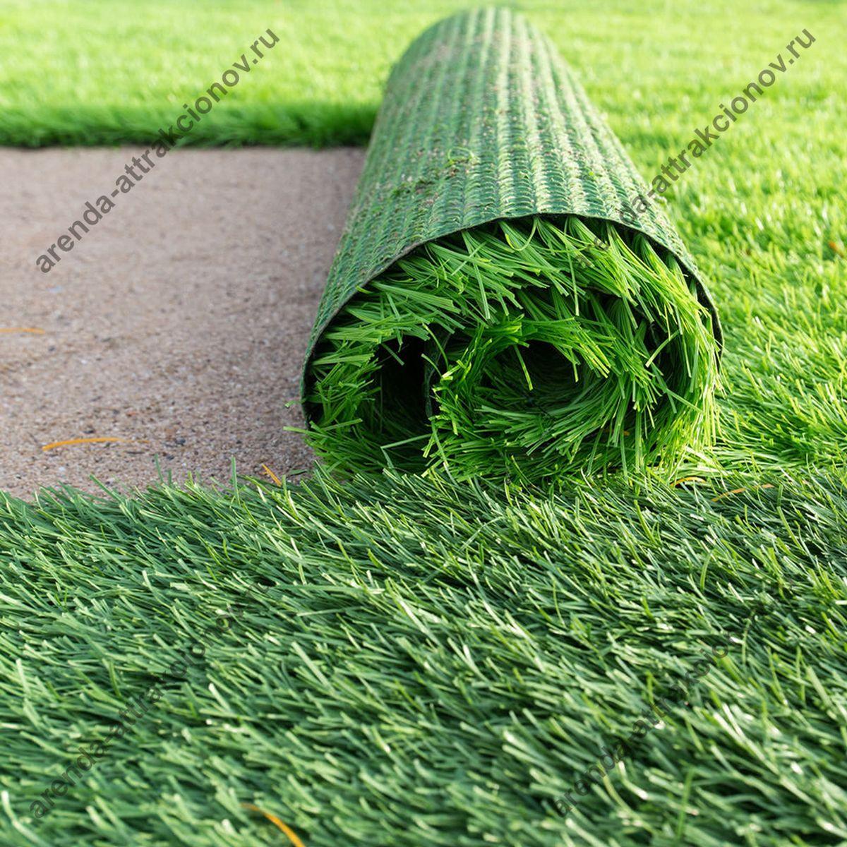 Искусственный газон для выездного керлинга в аренду