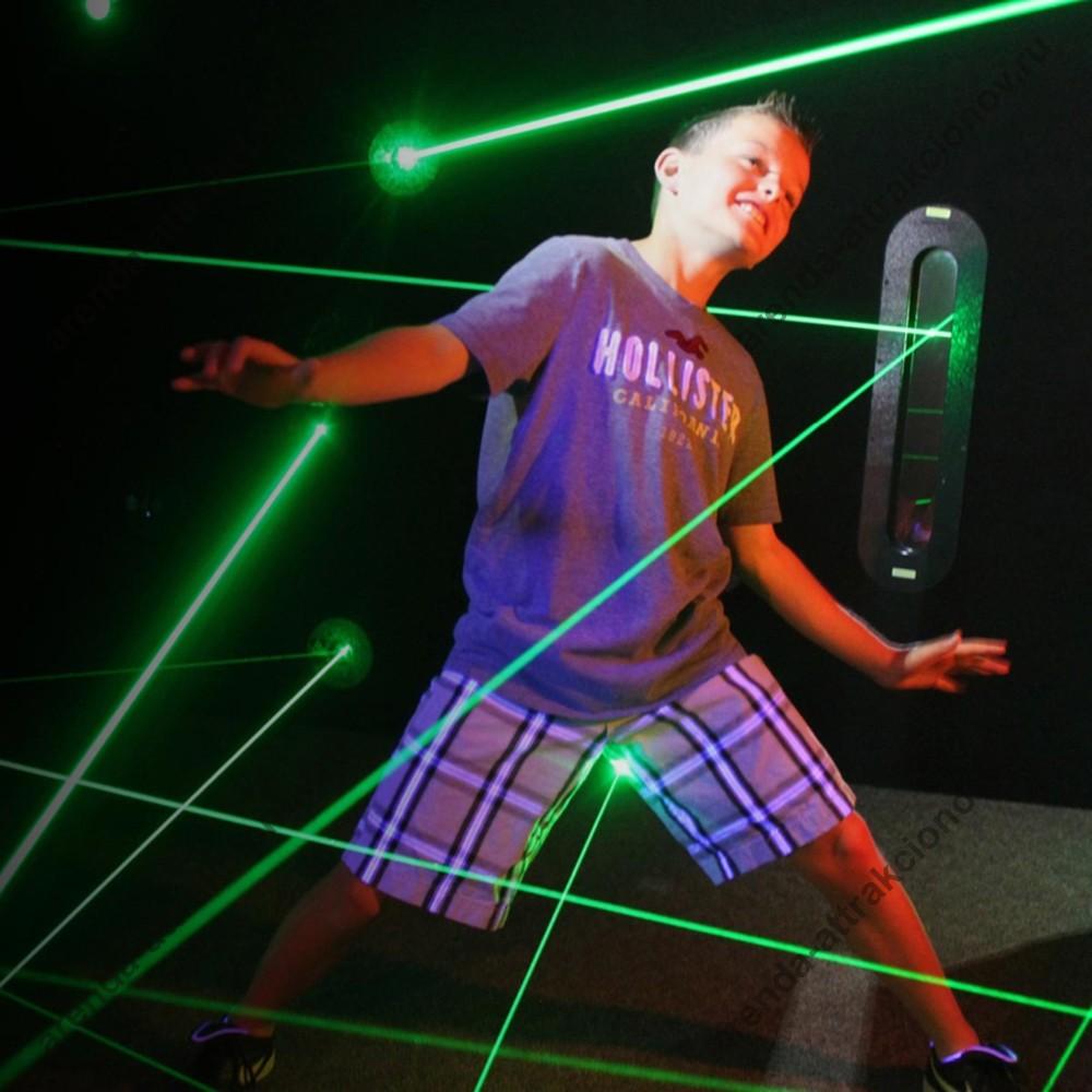 лазерный лабиринт  для детей