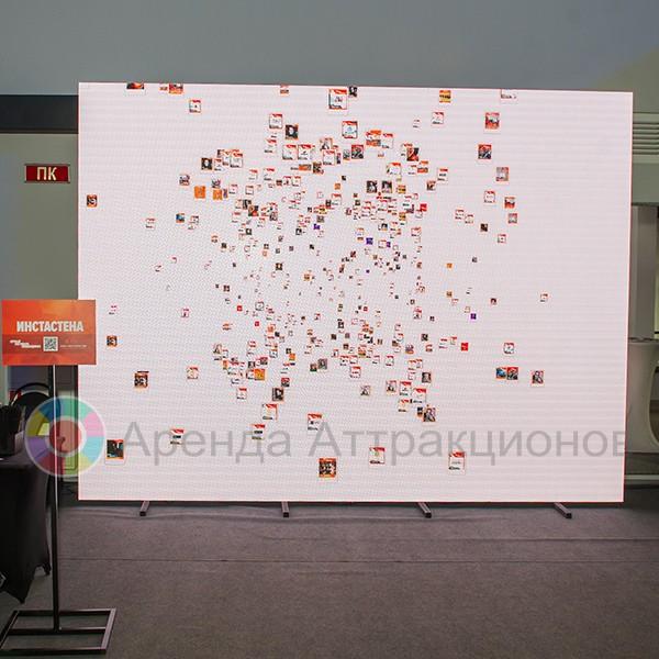 Интерактивная стена в аренду