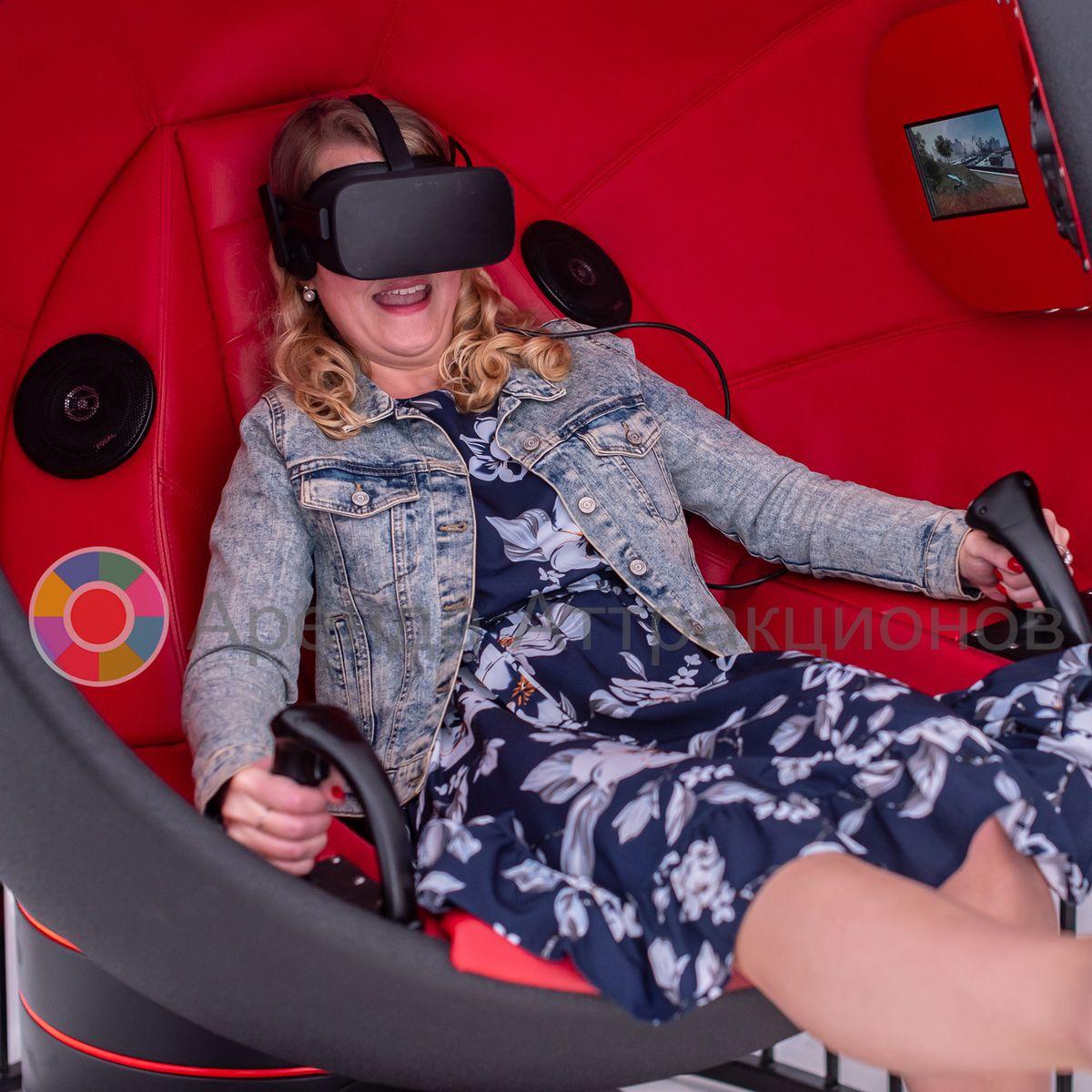 Виртуальный шаттл Pro с детьми