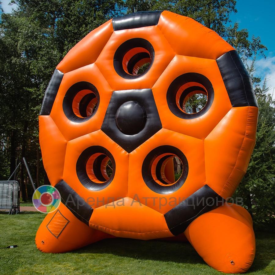 Аренда надувного аттракциона Футбол точный гол