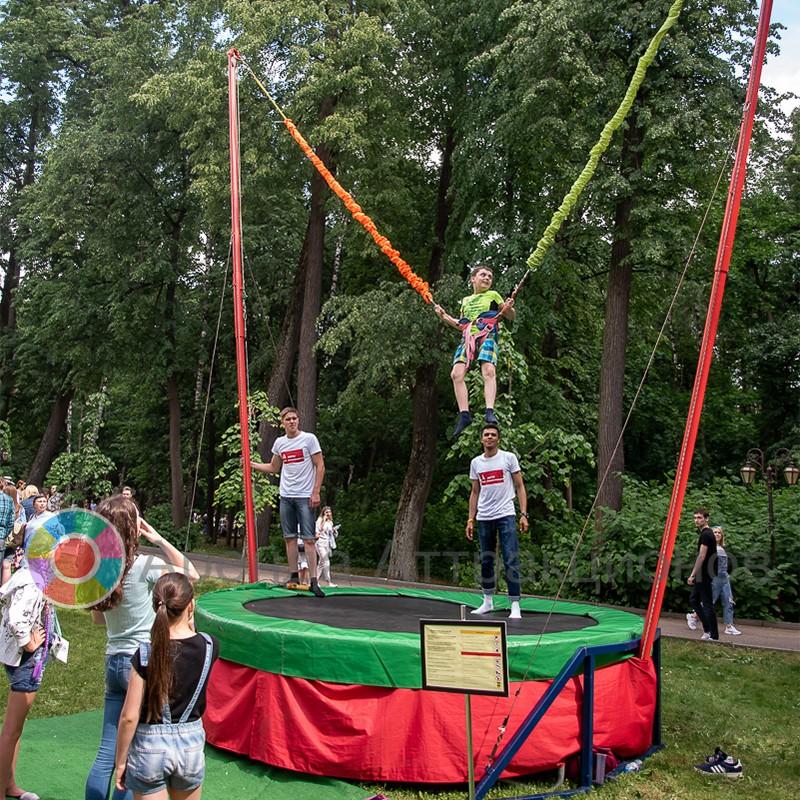 Даже дети смогут принять участи в этом веселом развлечении
