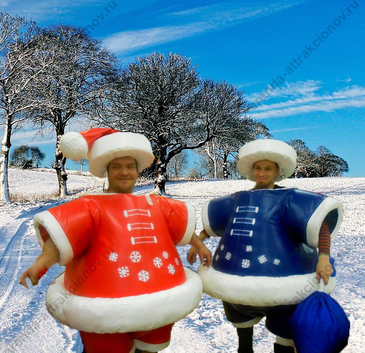 Новогодний Сумо Дед Мороз для мероприятий
