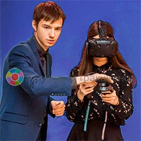 инструктор  на мероприятии - VR платформа