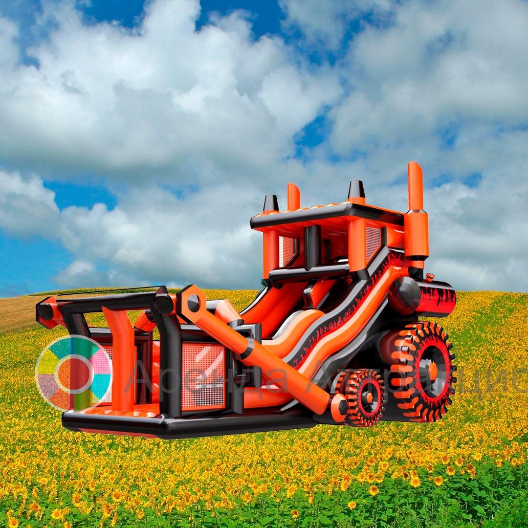 Батут Трактор в аренду