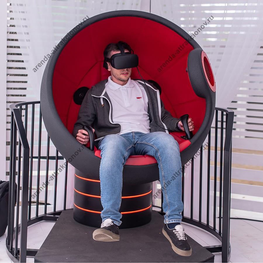 VR шаттл в помещении