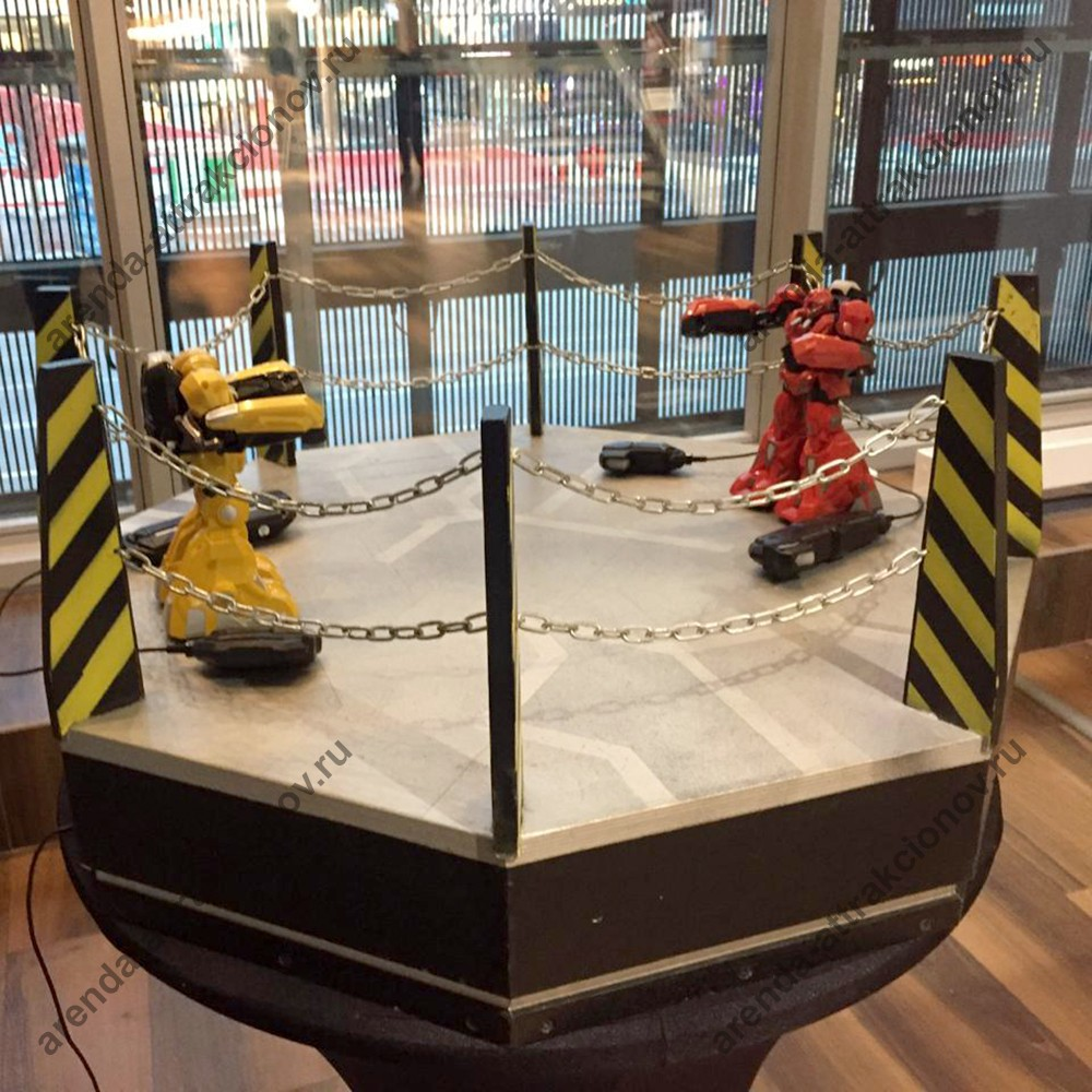 Робот для аттракциона Битва роботов