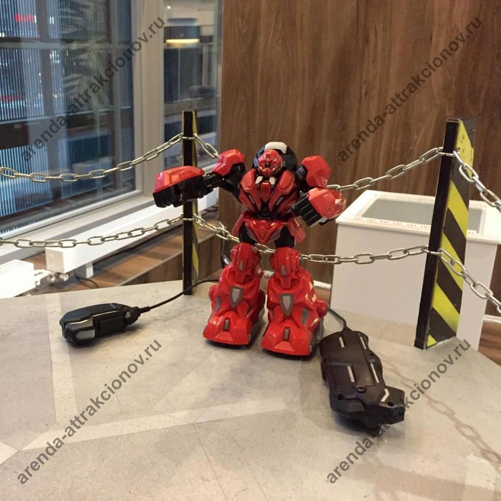 Комплект для аттракциона Битва роботов: Пульт + Робот