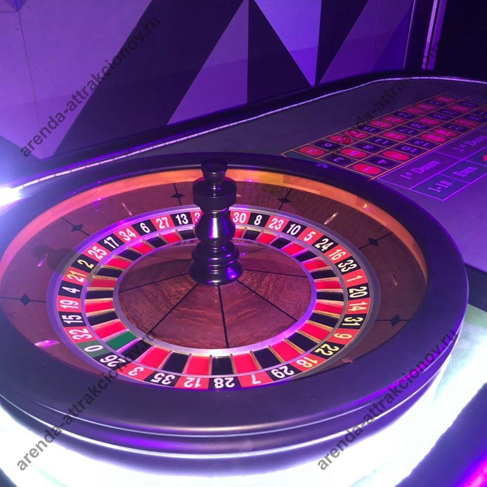 Американская рулетка в аренду на казино корпоратив