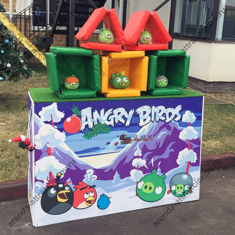 Злые птицы в аренду на мероприятие