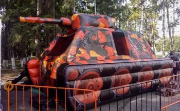 пневмофигура танк