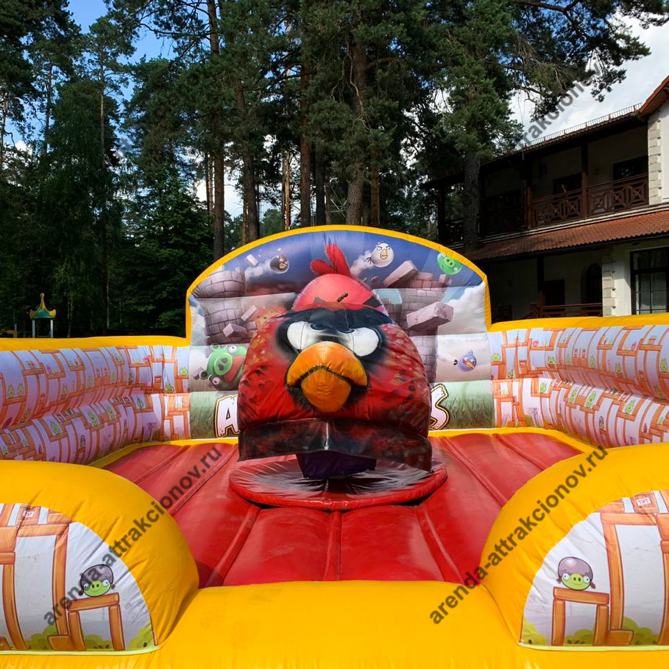 Аренда аттракциона Angry Birds на мероприятие