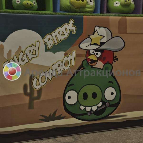 Аренда Angry Birds Ковбои на мероприятие