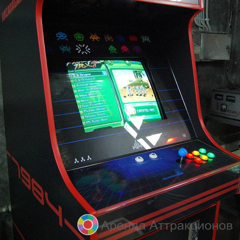 1 игрок - 30 игр - Советский игровой автомат