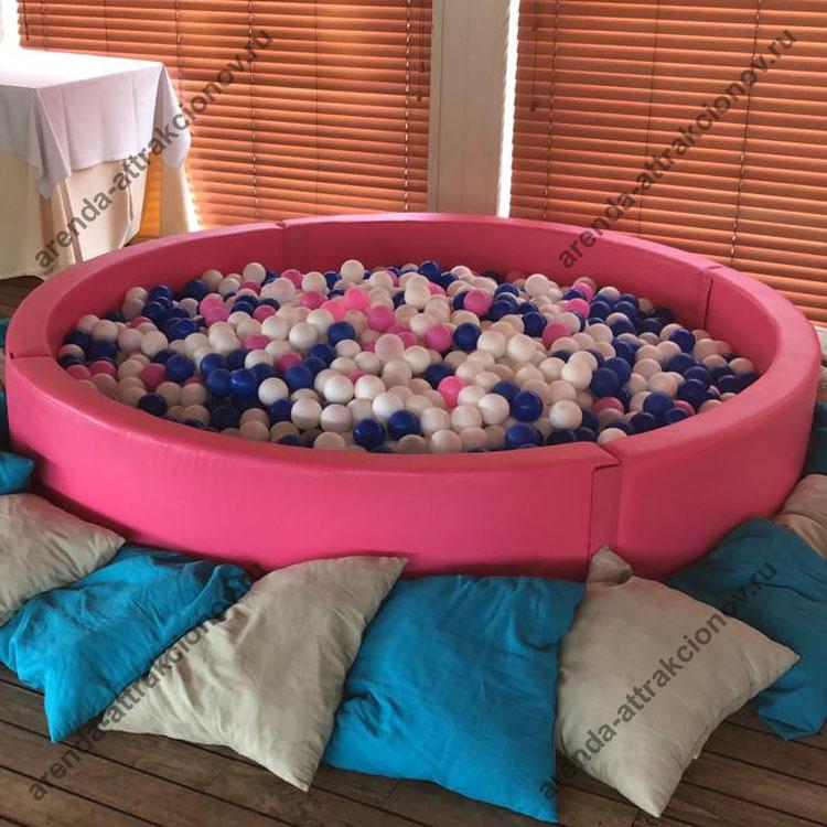 сухой бассейн в аренду
