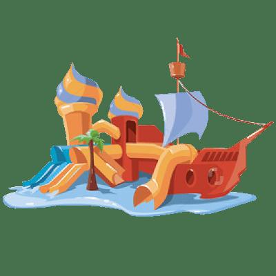 Батут Корабль на праздник