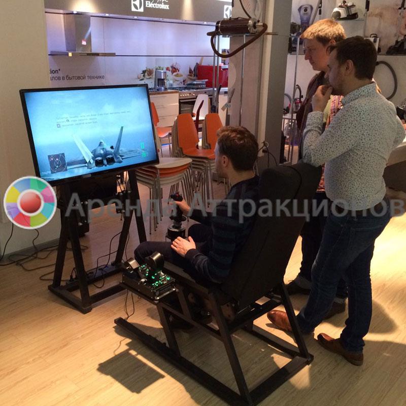 Игровой VR Авиасимулятор