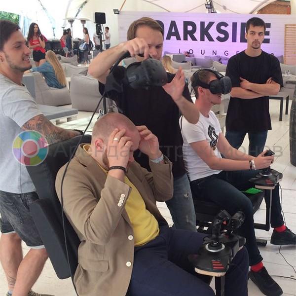 Виртуальный шлем для VR Авиасимулятора