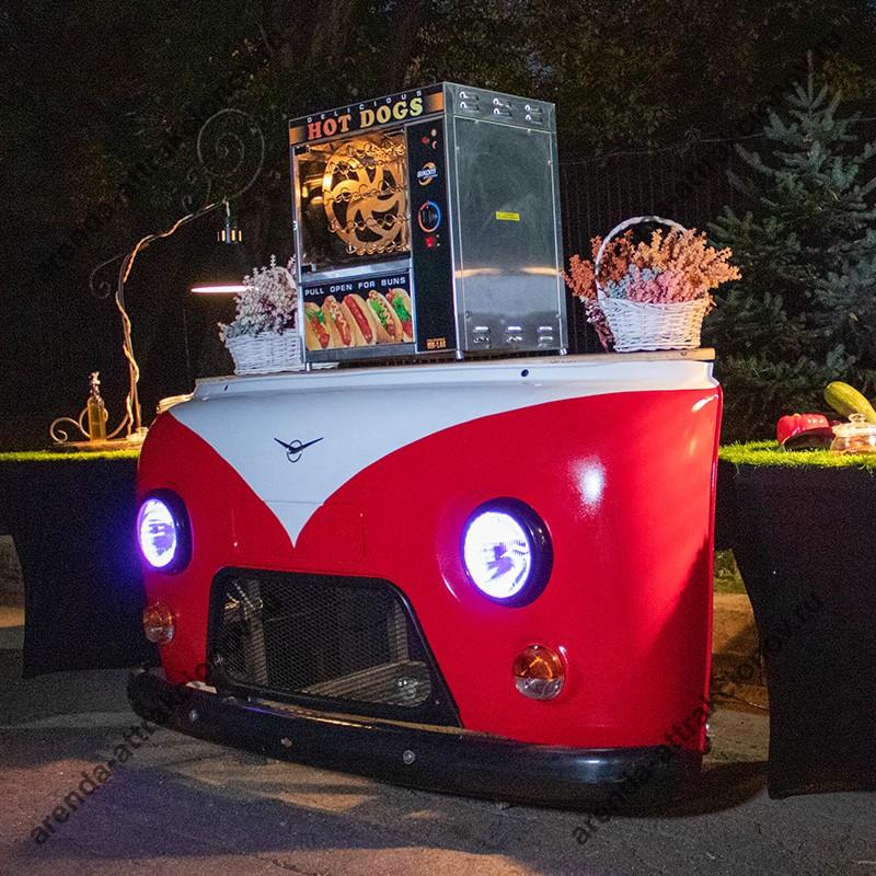 Заказать барную стойку Фургон в аренду на мероприятие для организации кейтеринга