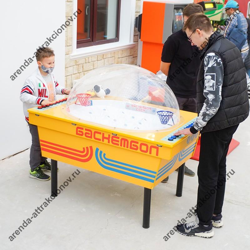 Советский баскетбол в аренду