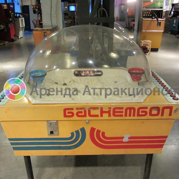 Игровой аппарат Баскетбол СССР в аренду